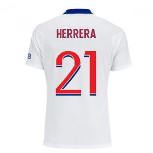 2020-2021 PSG Authentic Vapor Match Away Nike Shirt (HERRERA 21)
