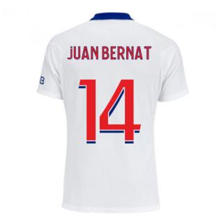 2020-2021 PSG Authentic Vapor Match Away Nike Shirt (JUAN BERNAT 14)