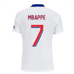 2020-2021 PSG Authentic Vapor Match Away Nike Shirt (MBAPPE 7)