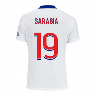 2020-2021 PSG Authentic Vapor Match Away Nike Shirt (SARABIA 19)