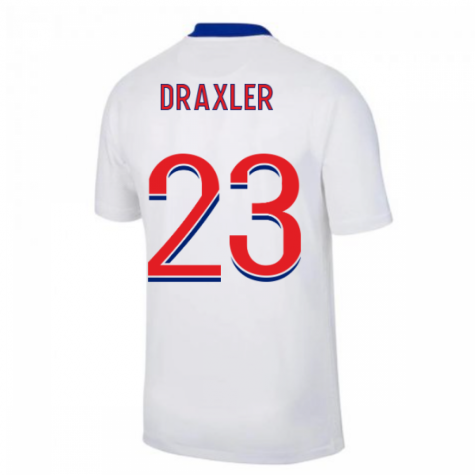 2020-2021 PSG Away Nike Football Shirt (DRAXLER 23)