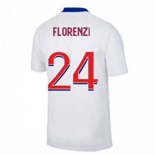 2020-2021 PSG Away Nike Football Shirt (FLORENZI 24)