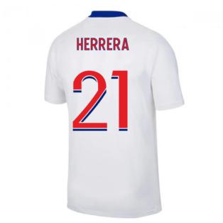 2020-2021 PSG Away Nike Football Shirt (HERRERA 21)