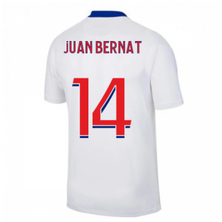 2020-2021 PSG Away Nike Football Shirt (JUAN BERNAT 14)