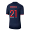 2020-2021 PSG Home Nike Football Shirt (HERRERA 21)