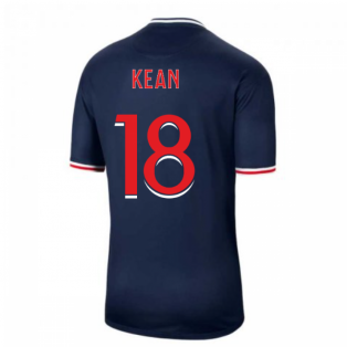 2020-2021 PSG Home Nike Football Shirt (KEAN 18)