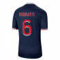 2020-2021 PSG Home Nike Football Shirt (VERRATTI 6)