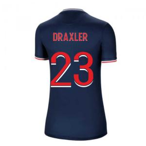 2020-2021 PSG Home Nike Womens Football Shirt (DRAXLER 23)