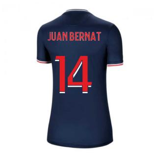 2020-2021 PSG Home Nike Womens Football Shirt (JUAN BERNAT 14)