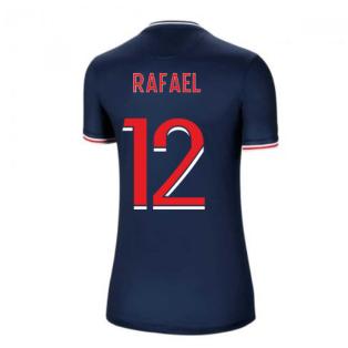 2020-2021 PSG Home Nike Womens Football Shirt (RAFAEL 12)