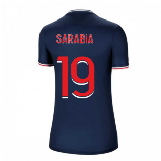 2020-2021 PSG Home Nike Womens Football Shirt (SARABIA 19)