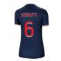 2020-2021 PSG Home Nike Womens Football Shirt (VERRATTI 6)