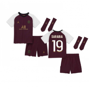 2020-2021 PSG Infants Third Kit (SARABIA 19)