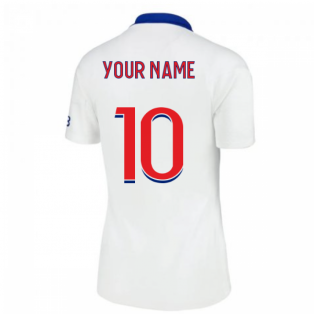 2020-2021 PSG Womens Away Shirt (Your Name)
