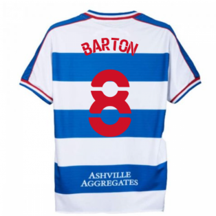 2020-2021 Queens Park Rangers Home Shirt (BARTON 8)