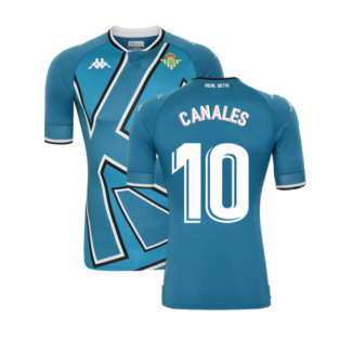 2020-2021 Real Betis Fourth Shirt (CANALES 10)