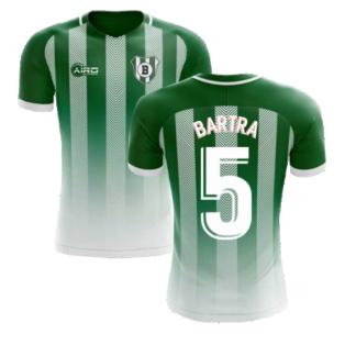 2020-2021 Real Betis Home Concept Football Shirt (Bartra 5) - Kids