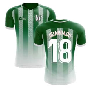 2020-2021 Real Betis Home Concept Football Shirt (Guardado 18) - Kids