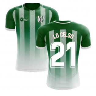 2020-2021 Real Betis Home Concept Football Shirt (Lo Celso 21) - Kids
