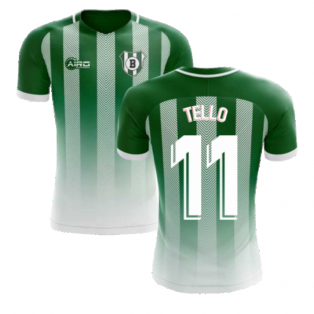 2020-2021 Real Betis Home Concept Football Shirt (Tello 11)