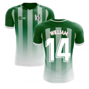 2020-2021 Real Betis Home Concept Football Shirt (William 14)
