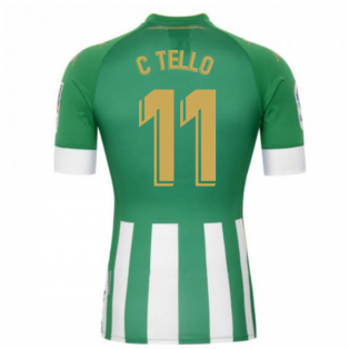 2020-2021 Real Betis Home Shirt (C TELLO 11)