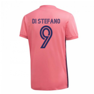 2020-2021 Real Madrid Adidas Away Football Shirt (DI STEFANO 9)