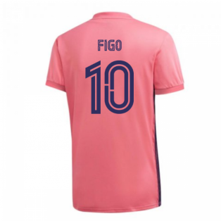 2020-2021 Real Madrid Adidas Away Football Shirt (FIGO 10)
