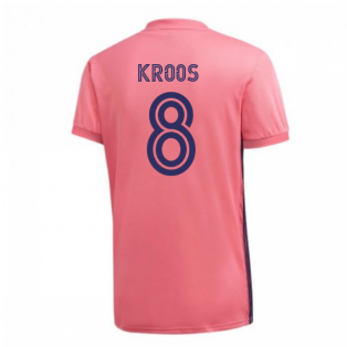 2020-2021 Real Madrid Adidas Away Football Shirt (KROOS 8)