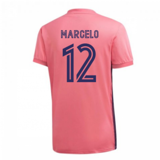 2020-2021 Real Madrid Adidas Away Football Shirt (MARCELO 12)