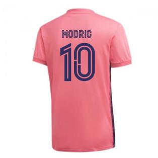 2020-2021 Real Madrid Adidas Away Football Shirt (MODRIC 10)