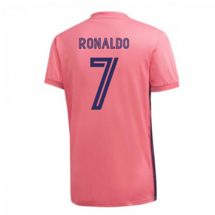 2020-2021 Real Madrid Adidas Away Football Shirt (RONALDO 7)