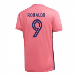 2020-2021 Real Madrid Adidas Away Football Shirt (RONALDO 9)