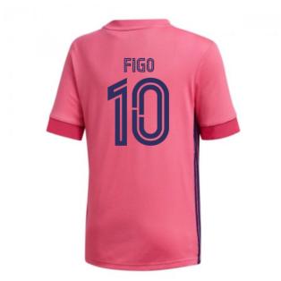 2020-2021 Real Madrid Adidas Away Shirt (Kids) (FIGO 10)