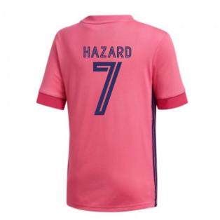 2020-2021 Real Madrid Adidas Away Shirt (Kids) (HAZARD 7)
