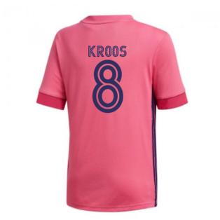 2020-2021 Real Madrid Adidas Away Shirt (Kids) (KROOS 8)