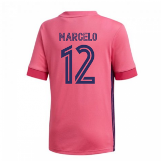 2020-2021 Real Madrid Adidas Away Shirt (Kids) (MARCELO 12)