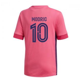 2020-2021 Real Madrid Adidas Away Shirt (Kids) (MODRIC 10)