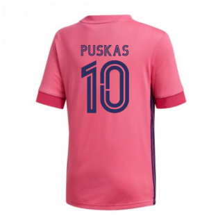 2020-2021 Real Madrid Adidas Away Shirt (Kids) (PUSKAS 10)