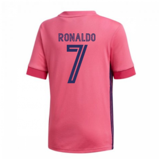 2020-2021 Real Madrid Adidas Away Shirt (Kids) (RONALDO 7)