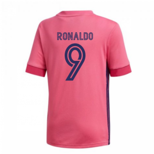 2020-2021 Real Madrid Adidas Away Shirt (Kids) (RONALDO 9)