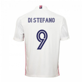 2020-2021 Real Madrid Adidas Home Football Shirt (DI STEFANO 9)