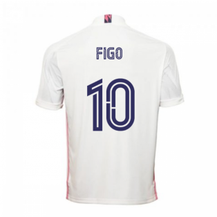 2020-2021 Real Madrid Adidas Home Football Shirt (FIGO 10)
