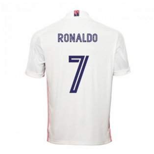 2020-2021 Real Madrid Adidas Home Football Shirt (RONALDO 7)