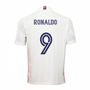 2020-2021 Real Madrid Adidas Home Football Shirt (RONALDO 9)