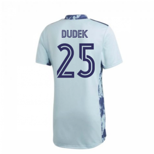 2020-2021 Real Madrid Adidas Home Goalkeeper Shirt (DUDEK 25)