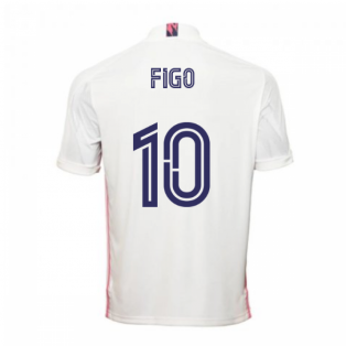 2020-2021 Real Madrid Adidas Home Shirt (Kids) (FIGO 10)