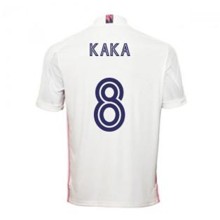 2020-2021 Real Madrid Adidas Home Shirt (Kids) (KAKA 8)