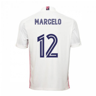 2020-2021 Real Madrid Adidas Home Shirt (Kids) (MARCELO 12)