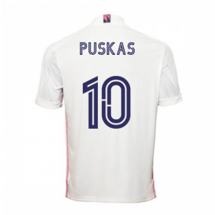 2020-2021 Real Madrid Adidas Home Shirt (Kids) (PUSKAS 10)